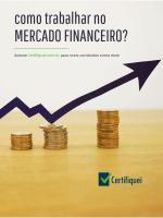 Como trabalhar no Mercado Financeiro?