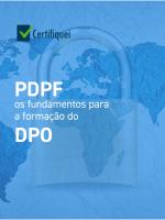 PDPF: Os fundamentos para a formação do DPO